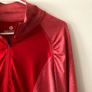 90 degree by reflex half-zip long sleeve pullover